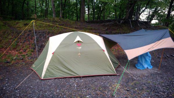 【快適 テント】ノースイーグルのテント シンプルジュラルミンドーム300は良く考